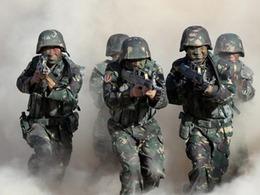 新疆警民演练 反恐神器曝光