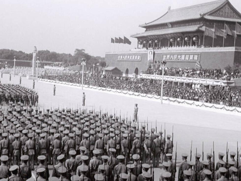国庆阅兵罕见旧照[图集] - jianchun605 - 神马骑士