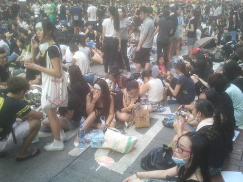 受香港占中所累 人民币创最大跌幅