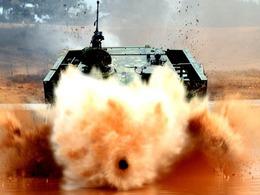 解放军自办坦克两项大赛