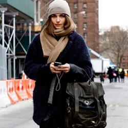 绒线帽温暖过冬 重温你的少女情结