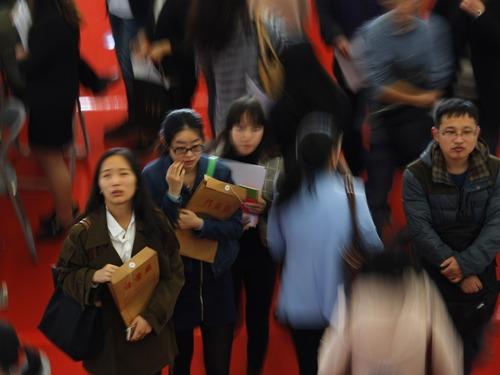 中国政策的关键目标是促就业增长