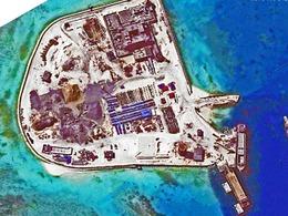 南海五岛扩建新照:赤瓜岛修防卫碉堡