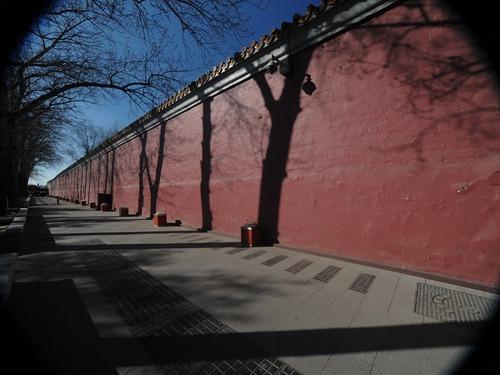 北京成荒凉空城 街道空无一人显萧条