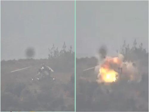 土耳其击落俄战机现场[图集]