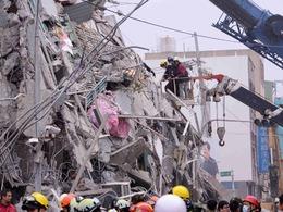 台地震致40万户停水 复水时间难预估