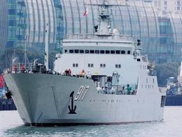 054A双舰出鞘 直击华东海舰队对抗演练