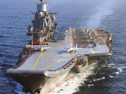 俄斥巨资改装唯一航母 再服役20年