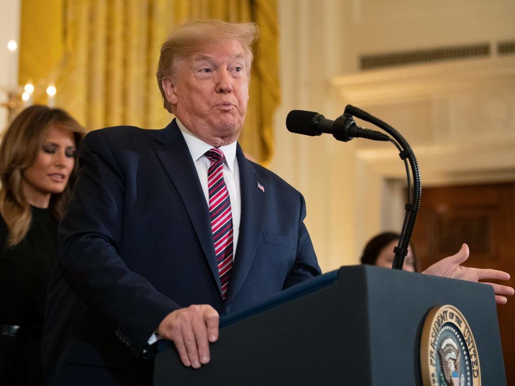 特朗普在白宫举行光明节庆典 犹太女婿库什纳出席[图集]