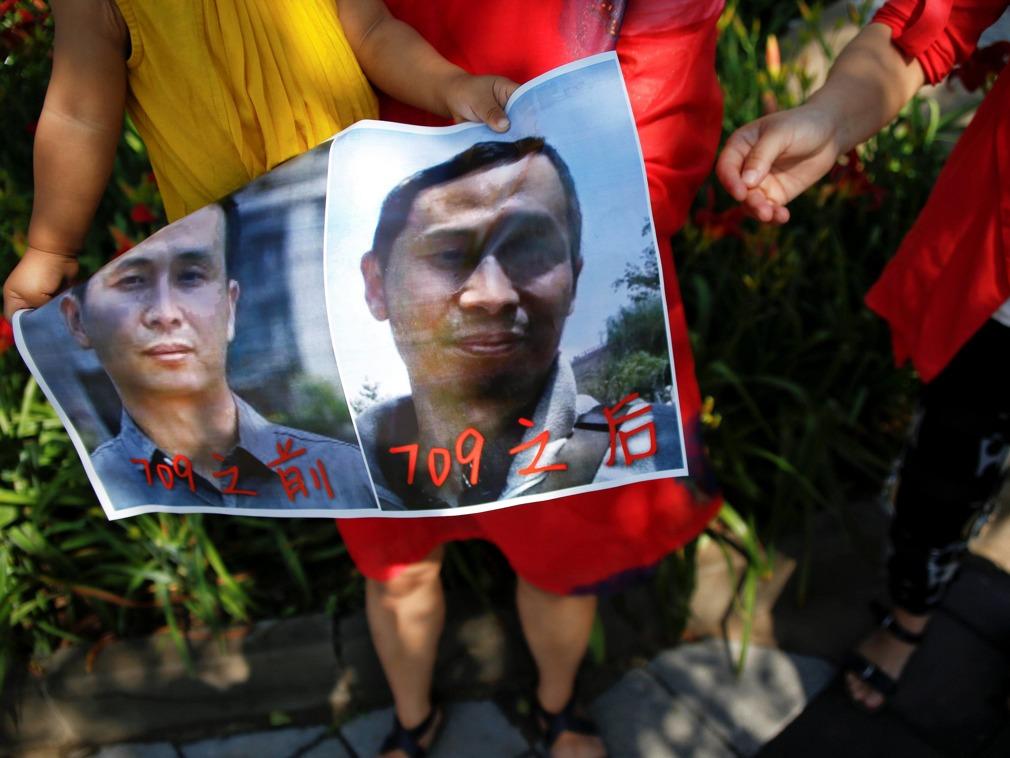 中国709案最后一人妻子徒步寻夫 遭拘留后获释_中国-多维新闻网